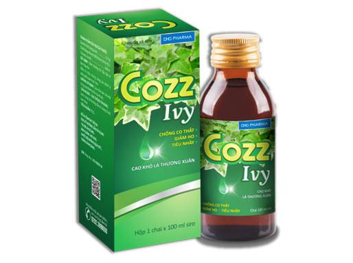 Cozz Ivy dùng được cho cả trẻ sơ sinh, trẻ nhỏ và người lớn